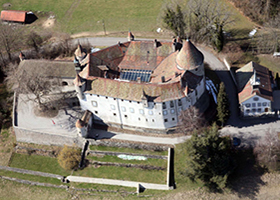 Chateaux Oron, Switzerland